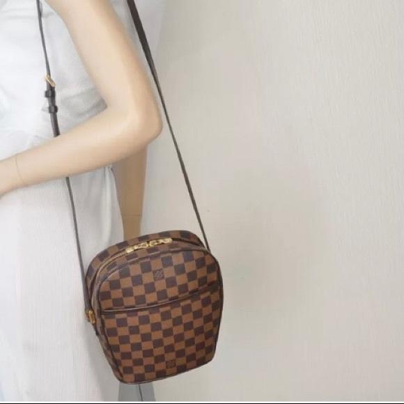 7f82c80e23cf Louis Vuitton Handbags -   SALE  Damier Ebene Ipanema PM Shoulder Bag